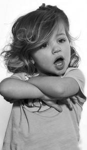 non petite fille