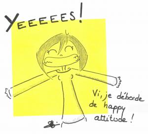 happy attitude