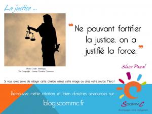 14.06.12 citation force justice Pascal