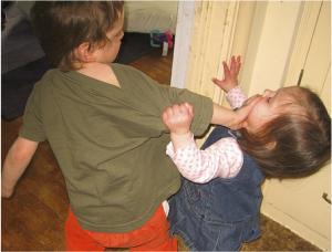 conflit entre enfants