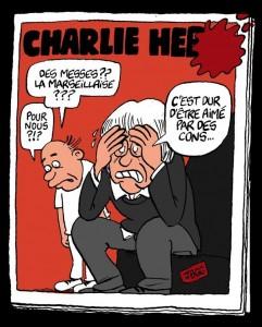 JBGG charlie hebdo caricature dur aime par des cons