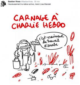 carnage a Charlie Hebdo