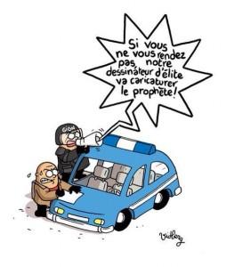charlie hebdo terroriste rendez vous sinon dessinateur caricature prophete