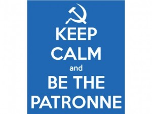 15.05.31 keep calm and be the patronne