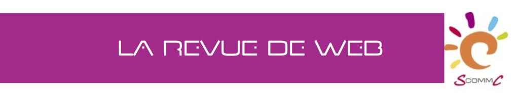 revue de web S Comm C sandrine donzel logo