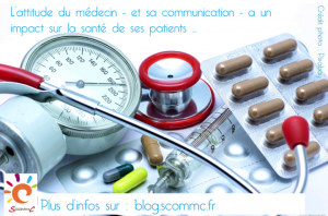 15.11.13 medecin communication impact sur sante patient