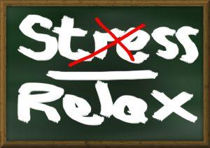 ne plus être stressée : stressée ou relax ?