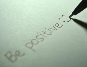 "pensée pensitive : ""be positive :-)"" et optimisme"