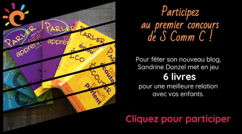 Un concours chez S Comm C, gagnez des livres sur la parentalité !