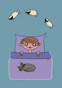 enfant qui n'arrive pas à s'endormir