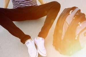 ados : sac à dos et baskets