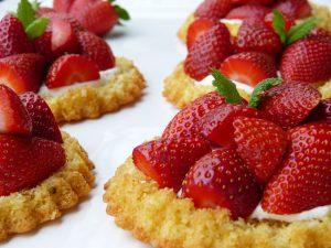 Qui je suis : tarte aux fraises