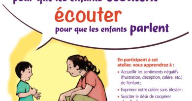 un atelier «Parler pour que les enfants écoutent, écouter pour qu'ils parlent» à Annecy !