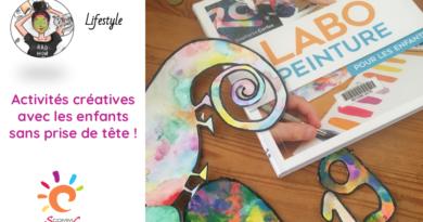 Des activités créatives avec les enfants sans prise de tête