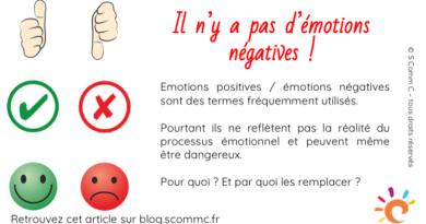 Il n'y a pas d'émotions négatives !