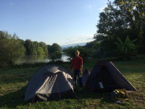aventure en famille : camping de Yenne
