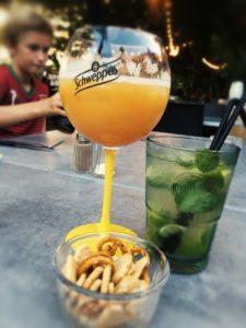 aventure en famille : les cocktails à Chanaz
