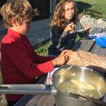 aventure en famille : fondue au sommet du Clergeon