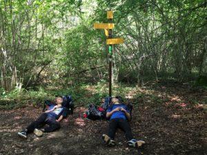aventure en famille : la pause eu pied du Mont Tournier