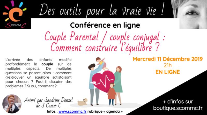 Une conférence en ligne sur le couple !