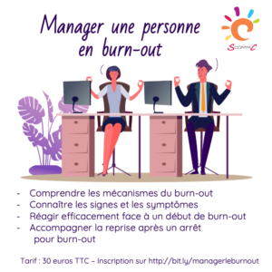 webinaire comment manager une personne en burn-out
