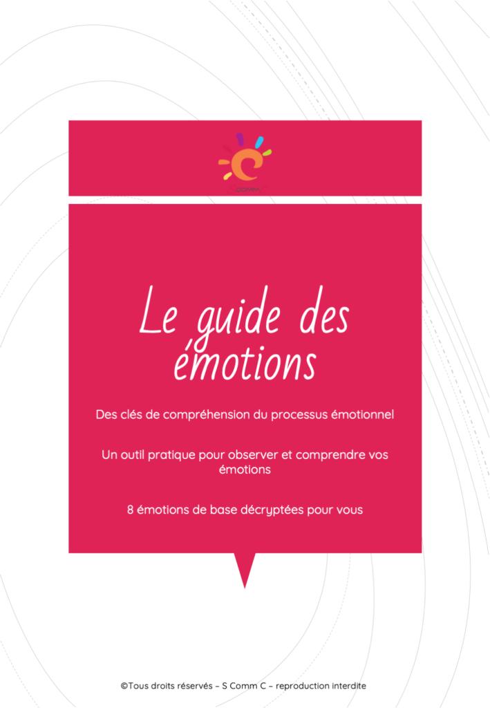 couverture du guide des émotions
