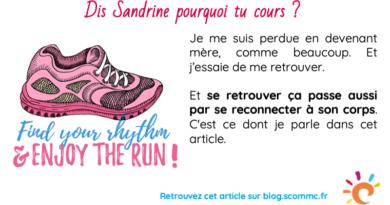 Dis Sandrine, pourquoi tu cours ?