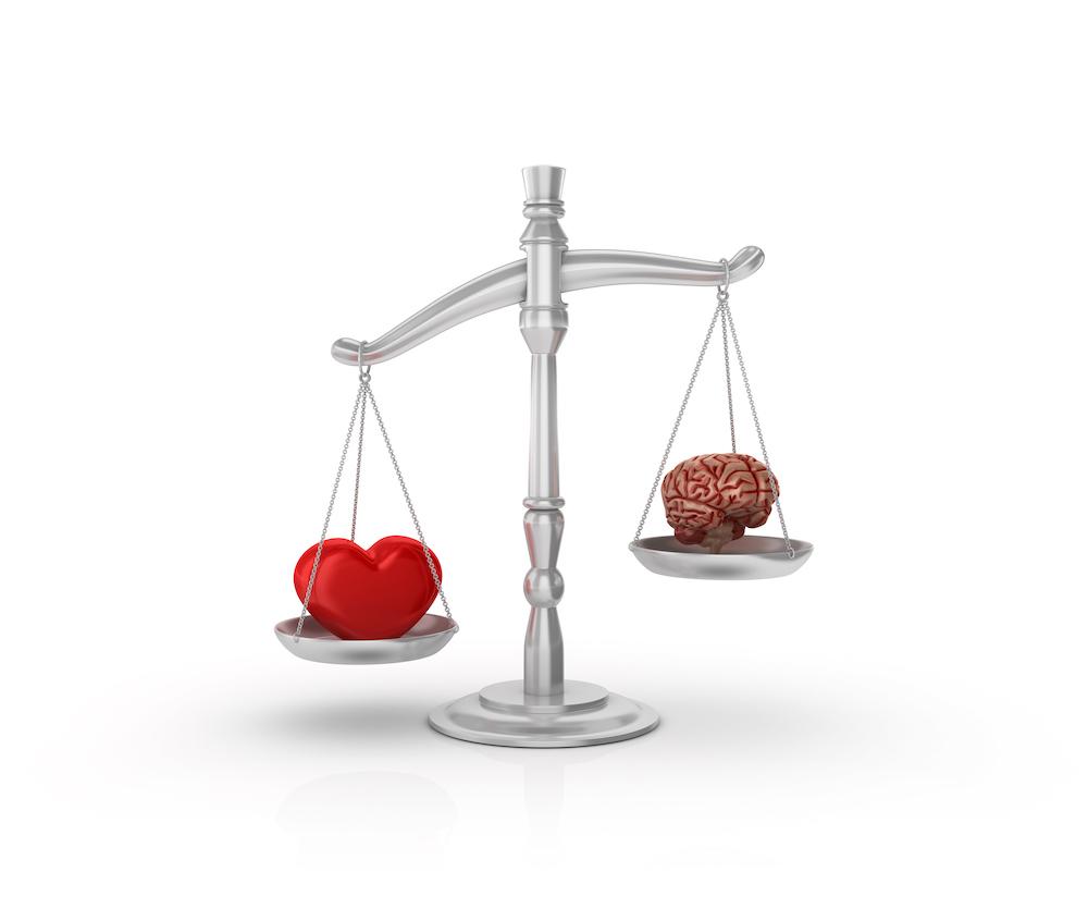 comment devenir moins raisonnable : balance entre le coeur et le cerveau