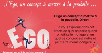 L'Ego un concept à mettre à la poubelle